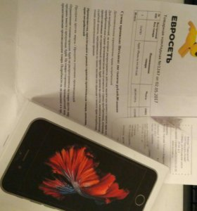 Iphone 6s 64 gb (копия)+чек