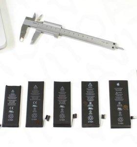 Аккумуляторы iPhone 4 4s 5 5s 5c 5se 6 6+ 6s 6s+ 7
