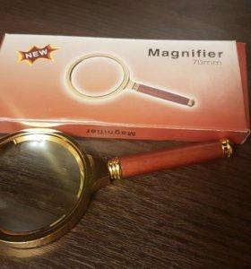 Лупа Magnifier диаметром 70мм.Увеличение в 3.5 раз