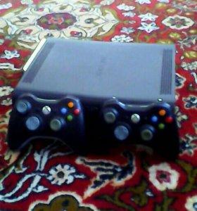 Приставка x-box 360 на 120 Гб. HDD