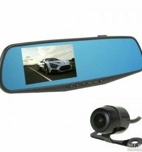 Зеркало заднего вида с встроенным видео регистрато