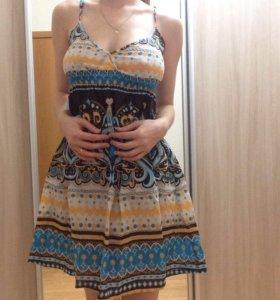 Легкое платье. Размер 40