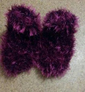 Тёплые носочки на зиму!