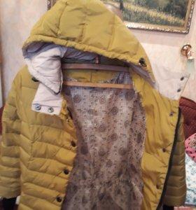 Куртка с капюшоном(весна-осень)