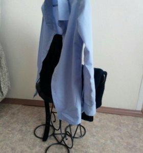 Детская вешалка одежды, ручная работа