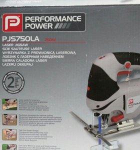 Электролобзик Performance PJS750LA