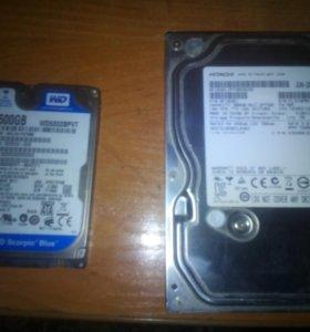 жесткие диски 500г