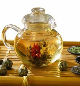 Чай, зерновой кофе в ассортименте