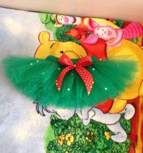Новогодние юбки туту,наряды для принцесс