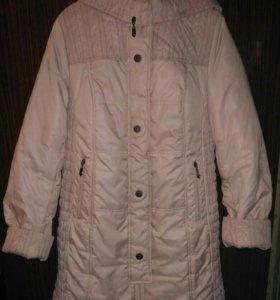Пальто-пуховик для беременных, р-р 50