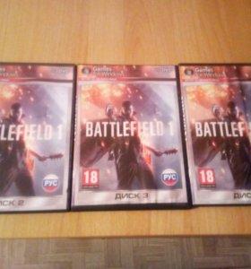 Игра в трех дисках,полная версия battlefleld.