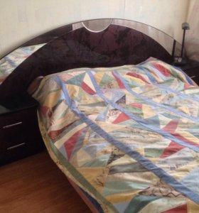 Кровать и шкаф. Комплект.