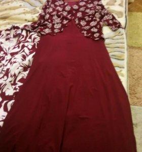 Платье желетка и пиджак