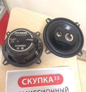 Автомобильные динамики Hyundai H-CSW503