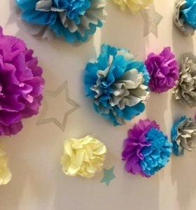 Цветы для декора (хэндмейд)