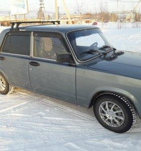 Продаю Ваз 2107 2011 г.в. цвет серебристый ОТС.