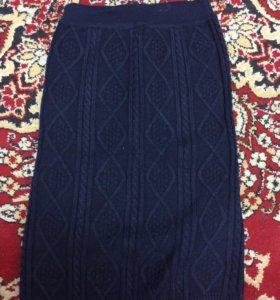 Вязаная юбка 40-42
