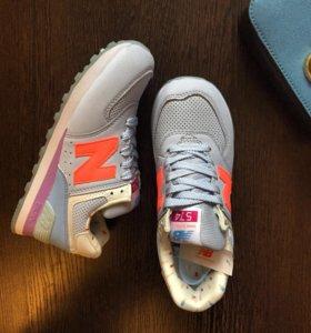 Новые кроссовки New Balance в трёх цветах