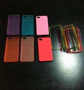 Чехлы для айфона 5 и 5 с