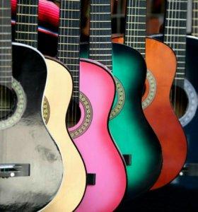 Ремонт разных гитар