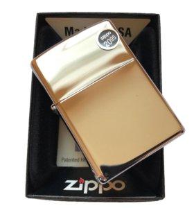Zippo High Polish Chrome 250 зажигалка
