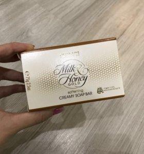 Крем-мыло «Молоко и мед – Золотая серия» 75г