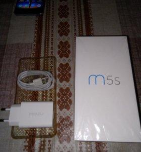Meizu m5s 3/16 черный бу