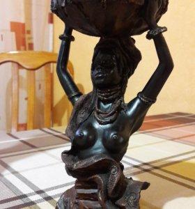 Подсвечник статуэтка