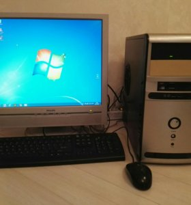 "Двухядерный Компьютер 19"" Win7 2/160Gb"