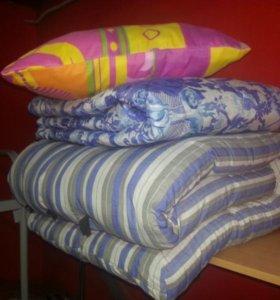 Комплекты матрац,подушка,одеяло