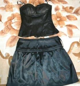 Комплект корсет, юбка, болеро