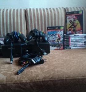 Xbox Original + 13 игр