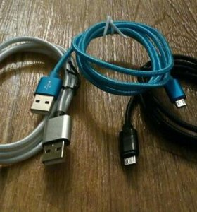 Шнур зарядки и передачи данных usb micro usb