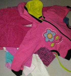 Детские вещи пакетом на девочку от 1 до 2.5 лет