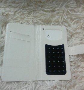 Чехол белый для смартфона