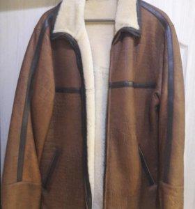 Куртка мужская кожаная, дубленка ERVITO