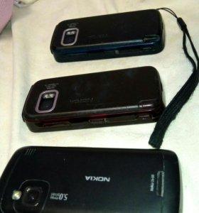 Телефоны Nokia 5800, C6-00