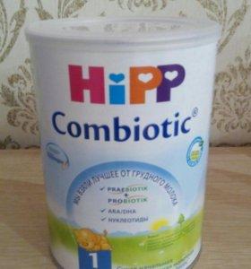 Новая. Молочная смесь HiPP 800г 0-6месяцев.