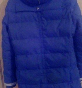 Куртка длинный мужской