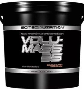 Гейнер протеин volumass 35 scitec nutrition 6 кг