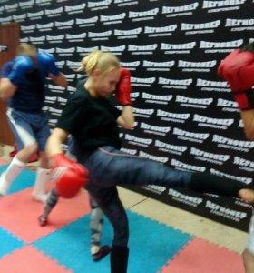 Женский тайский бокс , кикбоксинг