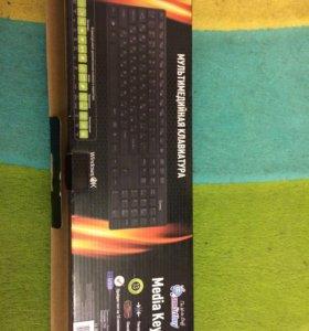 Клавиатура Media Key SBK-204US-K