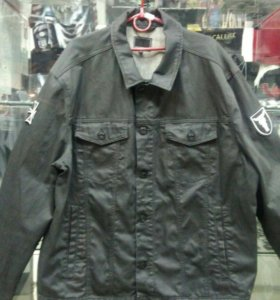 Куртка Джинсовая с нашивкой