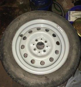 Запасное колесо на ваз r14
