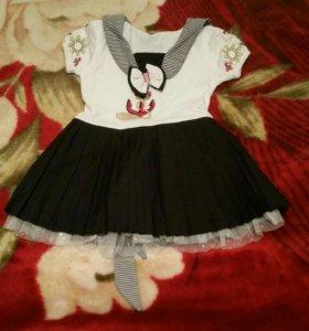 Платье для девочки 1-1,5 года.