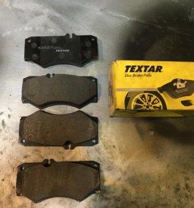 Колодки тормозные передние TEXTAR 2078401