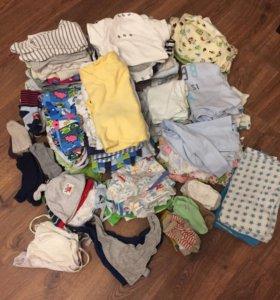 Набор Пакет Одежда для новорождённого 56-74