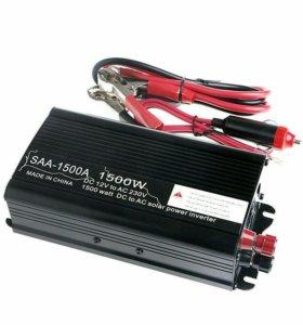 Инвертор преобразователь тока 12-220в