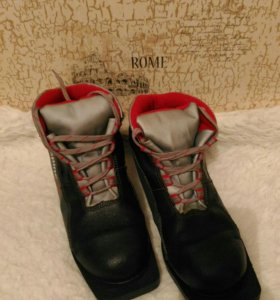 Ботинки лыжные 38 размер.