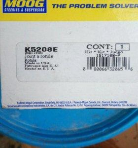Опора шаровая верхняя. 2 шт. Moog K5208E